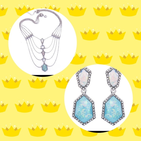 royalty fashion jewelry Jewelry - Earring & necklace set 😍